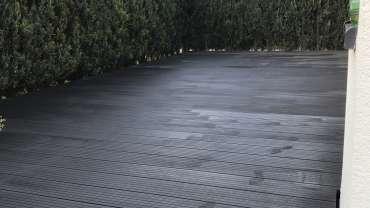 Ausbau Terrasse